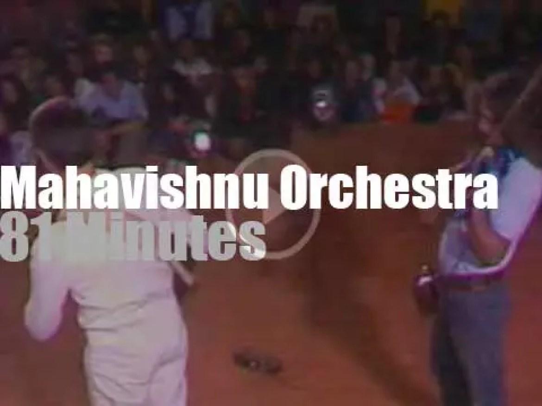 Mahavishnu Orchestra attend a French festival (1972)