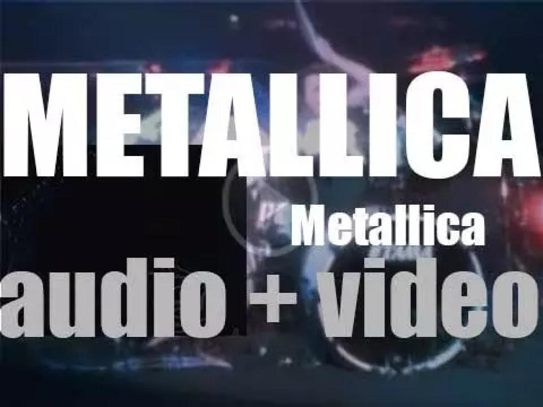 Elektra Records release 'Metallica,' their self-titled fifth album featuring 'Enter Sandman' (1991)