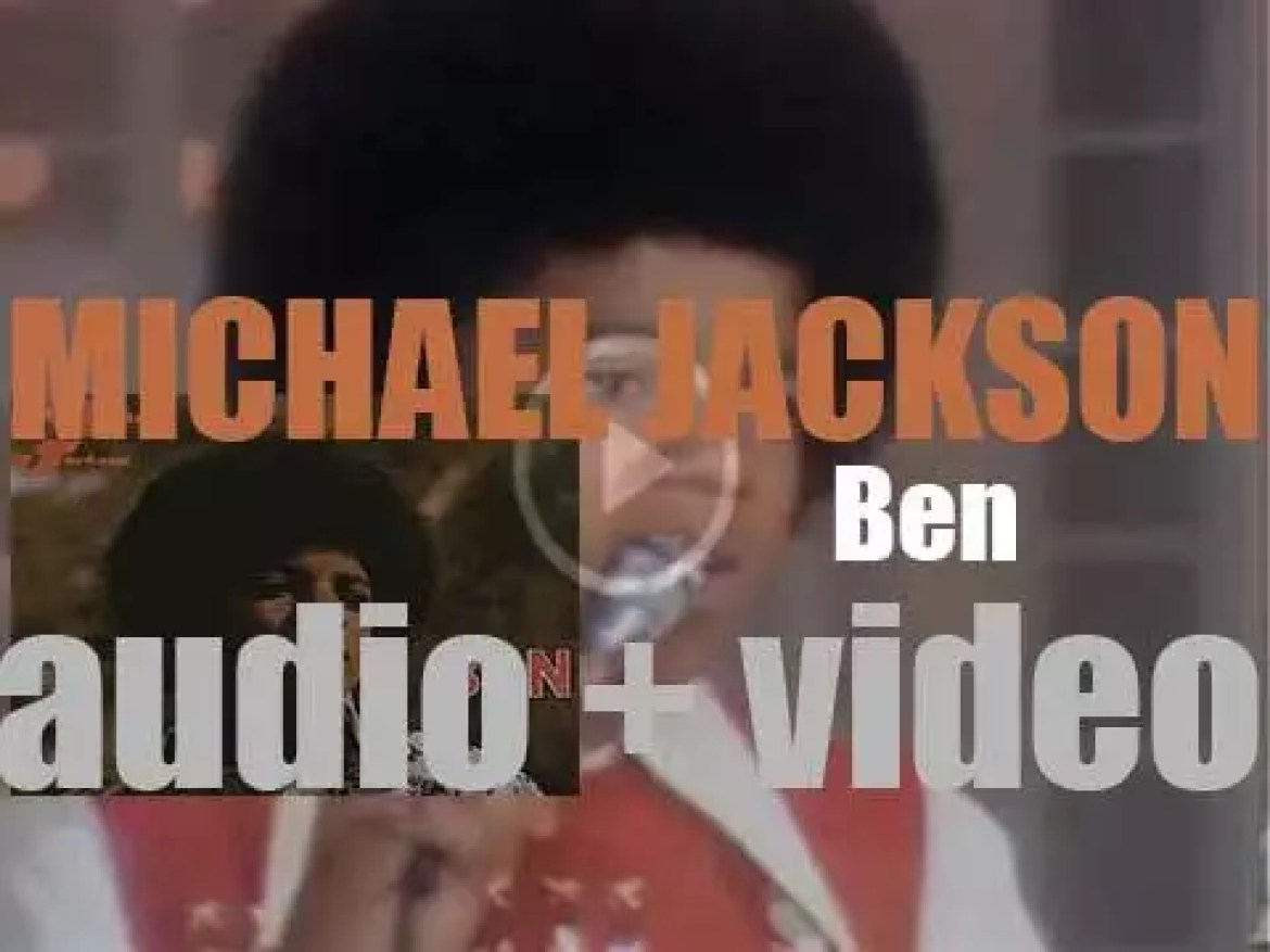 Motown publish Michael Jackson's second solo album : 'Ben' featuring 'I Wanna Be Where You Are' (1972)