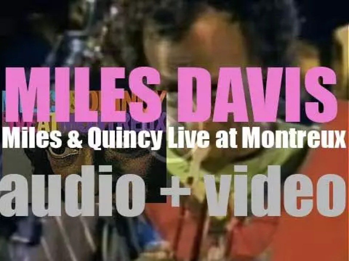 Warner Bros. release 'Miles & Quincy Live at Montreux,' a collaboration album by Miles Davis and Quincy Jones recorded at the 1991 Montreux Jazz Festival (1993)