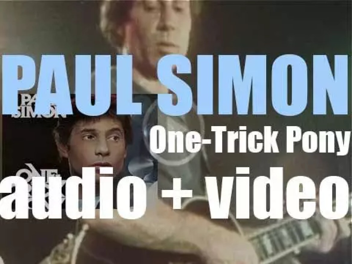 Paul Simon releases 'One-Trick Pony,' his fifth solo album, produced with Phil Ramone (1980)