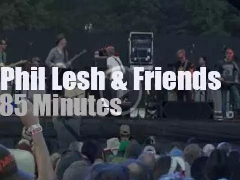 Phil Lesh & Friends attend  a festival in Virginia (2016)