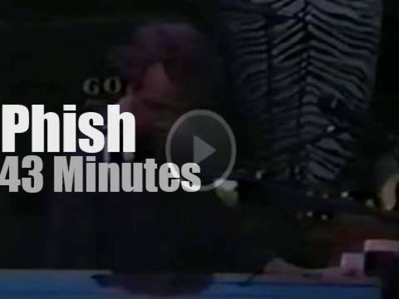 Phish open for Santana in California (1992)