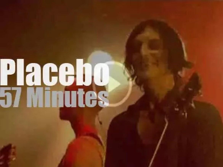Placebo attend a Dutch festival (2010)
