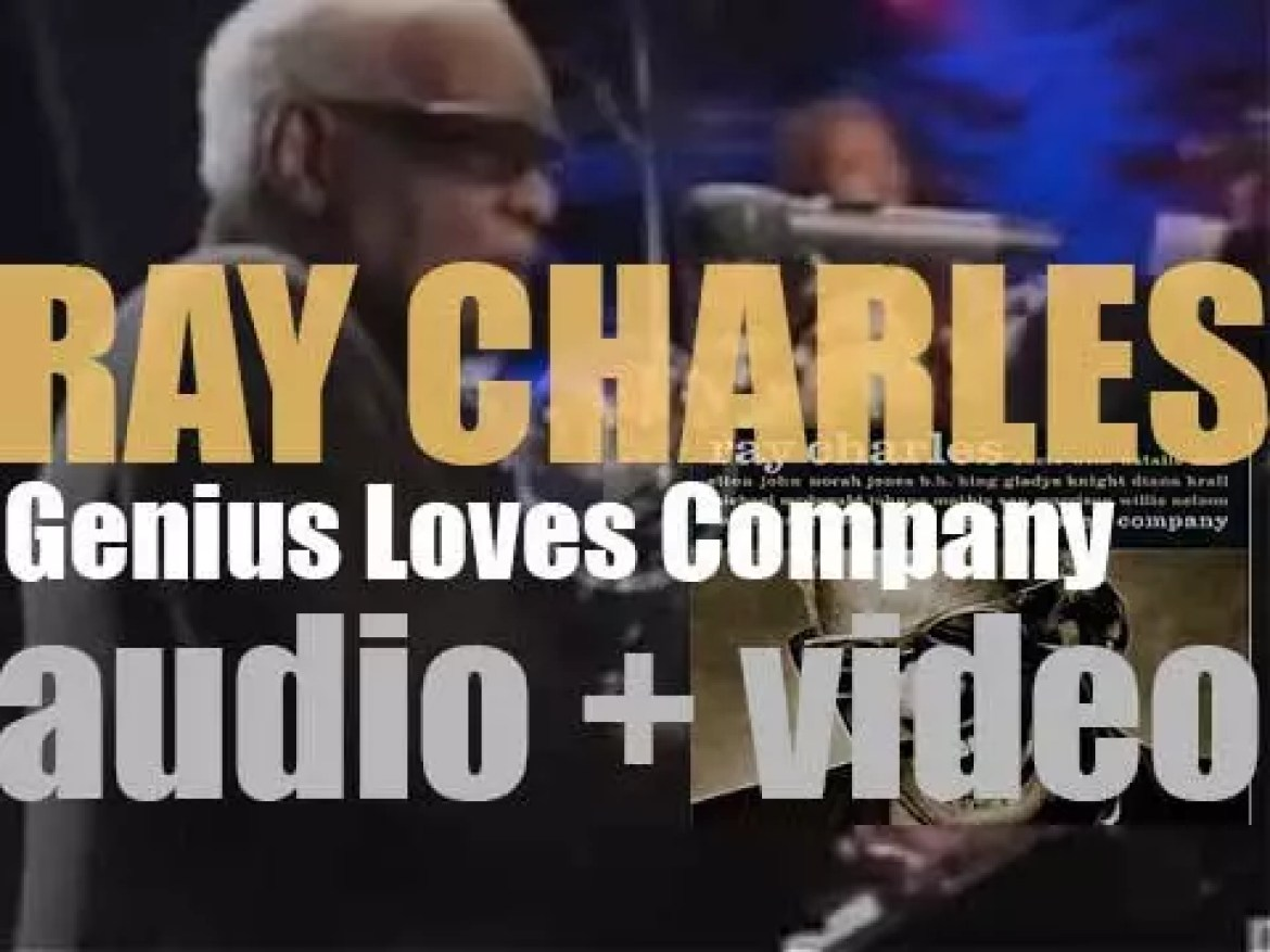 Concord publish Ray Charles' posthumous and final album : 'Genius Loves Company' recorded with Norah Jones, James Taylor, Diana Krall and more famous guests (2004)