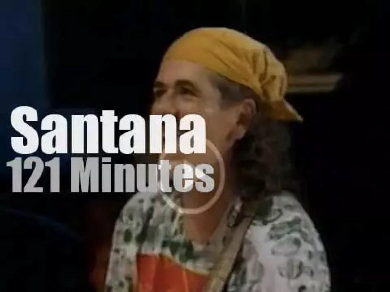 "Santana attend ""Woodstock 94"" Day 3 (1994)"
