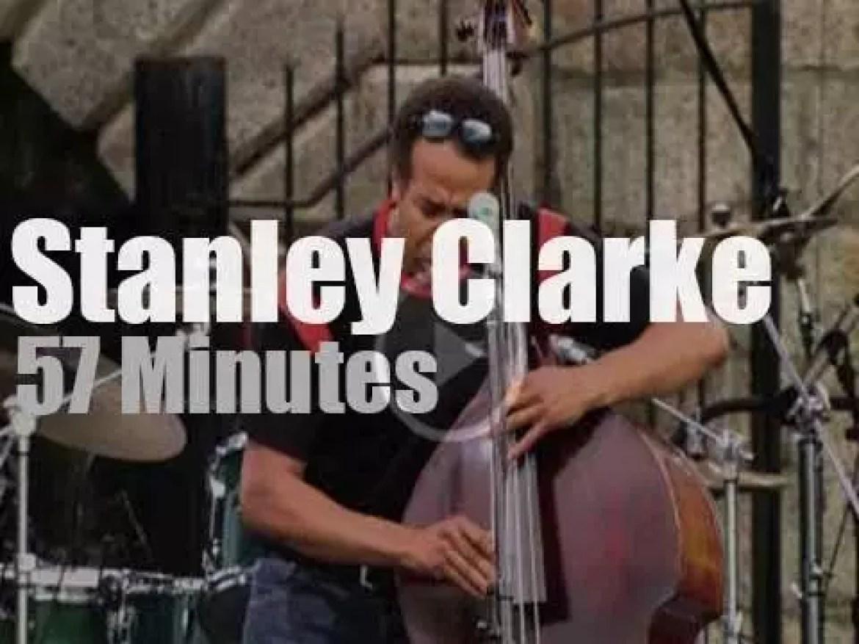 Stanley Clarke plays at Newport Jazz (2003)