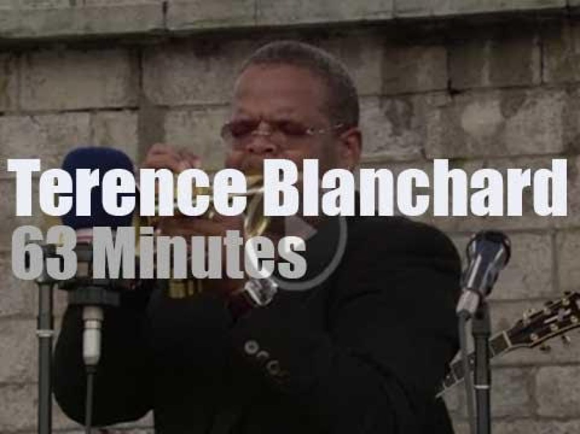 Terence Blanchard plays at Newport Jazz (2003)