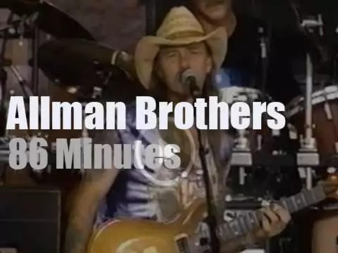 """The Allman Brothers Band attend """"Woodstock 94"""" Day 3 (1994)"""