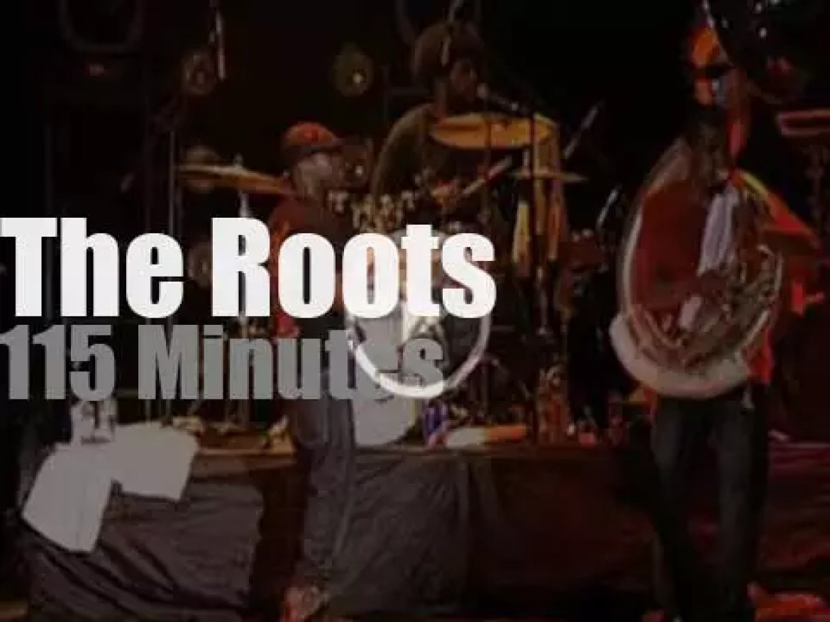 The Roots visit Moscow (2008)
