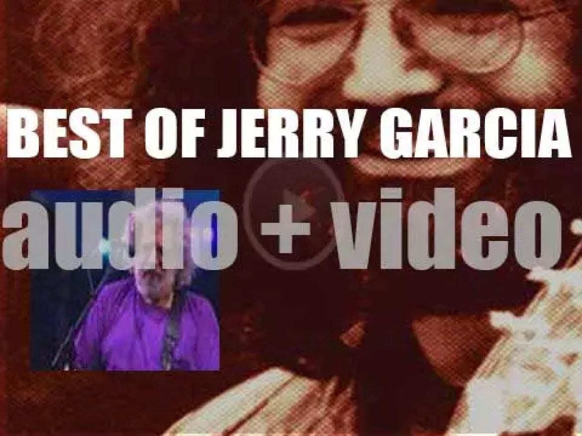 We all remember Jerry Garcia. 'Dead And Alive'