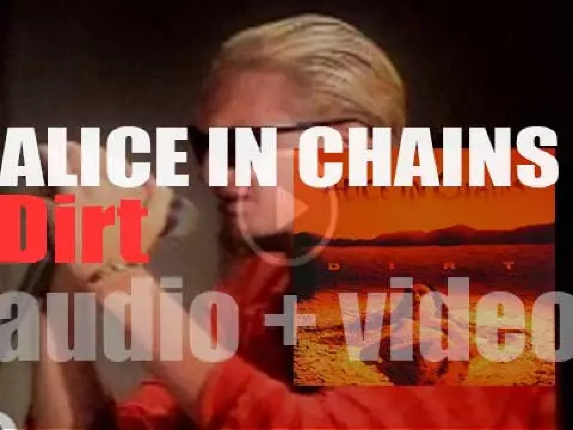 Columbia publish Alice in Chains' second album : 'Dirt' featuring 'Would?' (1992)