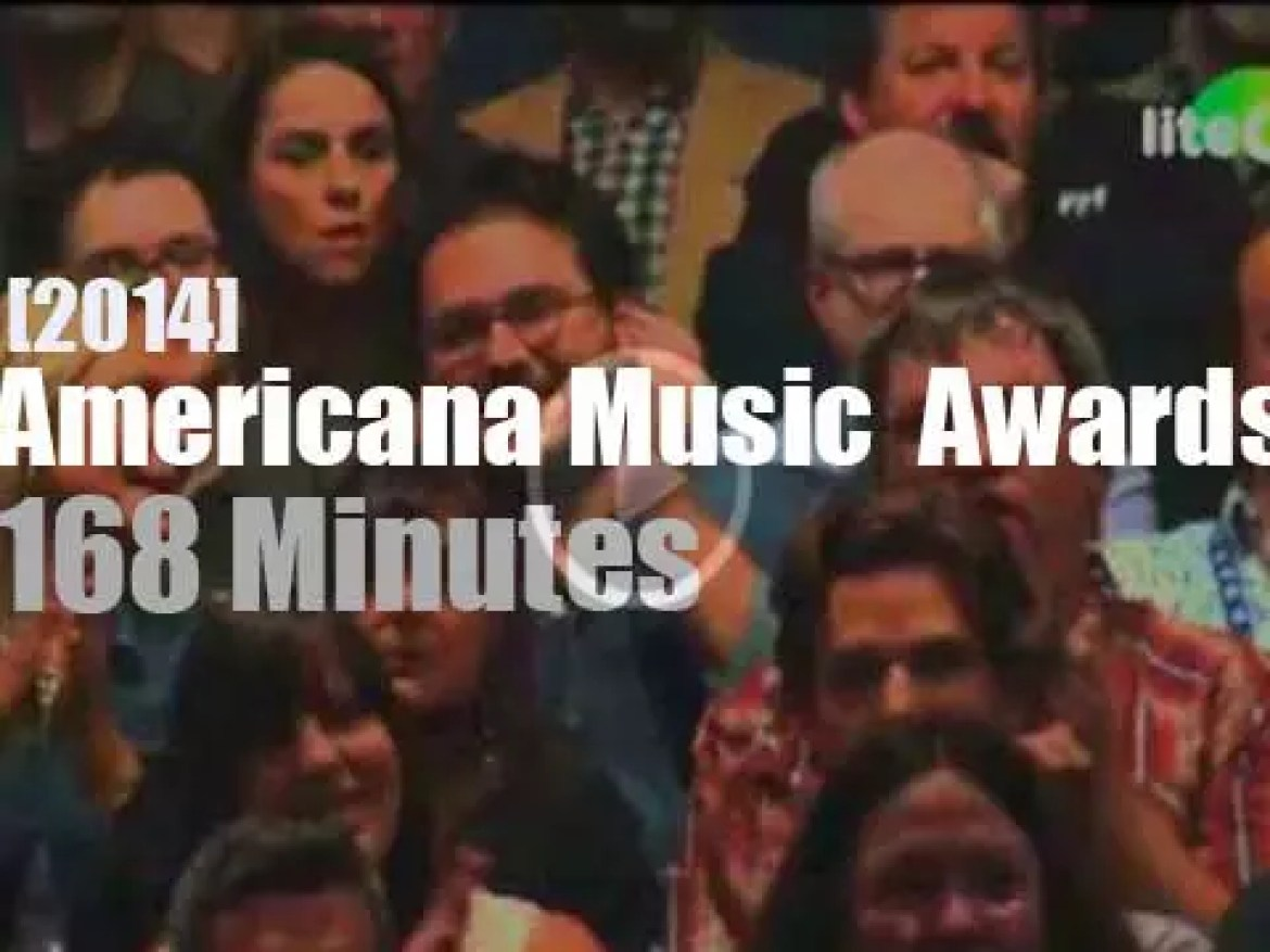 The Americana Music  Awards are in Nashwille (2014)