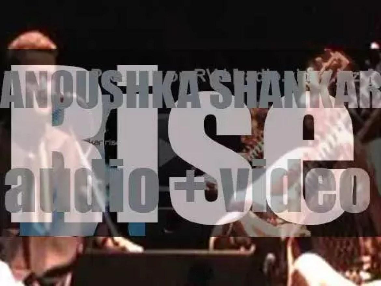 Angel Records publish Anoushka Shankar's album : 'Rise' (2005)