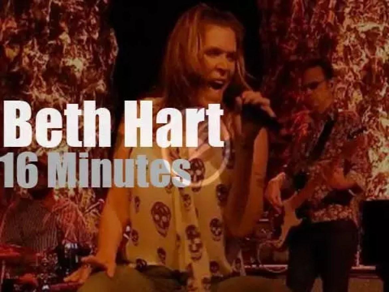 Beth Hart rocks Milwaukee (2016)