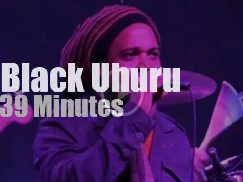 Black Uhuru visit Nebraska (2015)