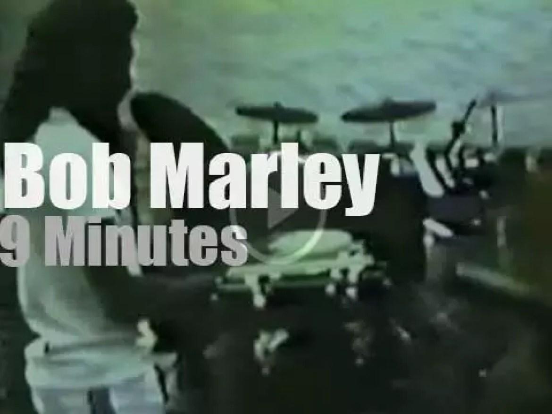 Bob Marley rehearses in Miami (1980)