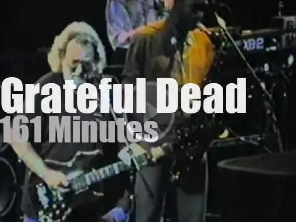 Branford Marsalis & Bruce Hornsby sit in with the Dead (1991)