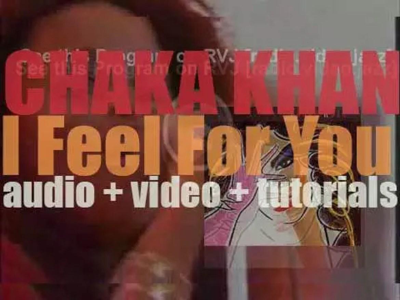 Warner Bros. Records publish Chaka Khan's fifth album : 'I Feel for You' (1984)