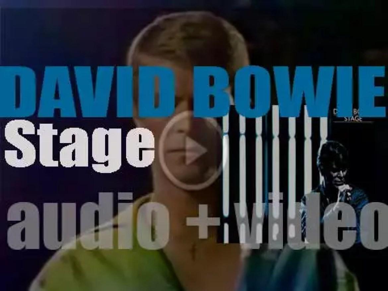 RCA publish David Bowie's 'Stage,' his second live album (1978)