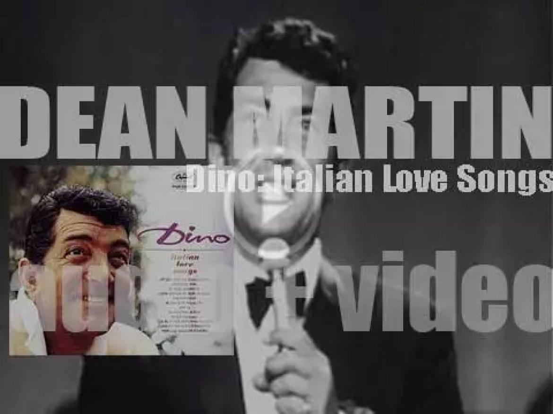 Dean Martin records 'Dino: Italian Love Songs' for Capitol Records (1962)