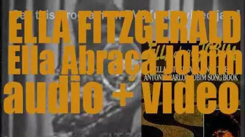 Ella Fitzgerald records 'Ella Abraça Jobim,' an album of Antonio Carlos Jobim's songs (1980)