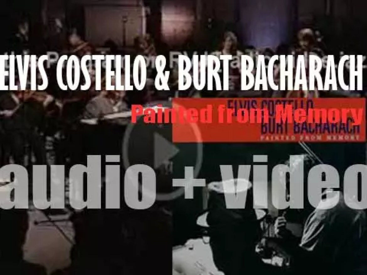 Mercury publish 'Painted from Memory' by Elvis Costello and Burt Bacharach (1998)
