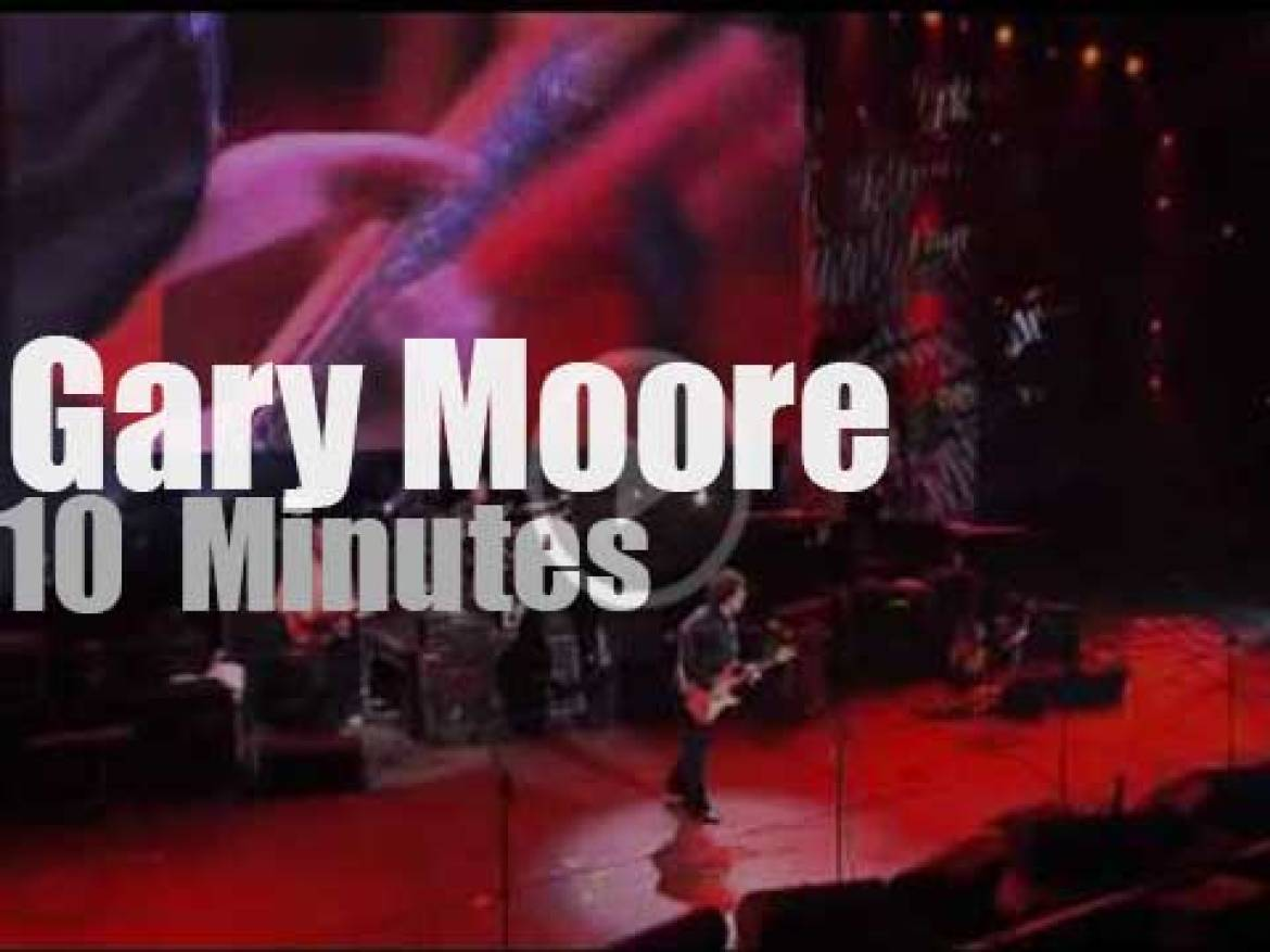 Gary Moore celebrates Stratocaster 50 years  (2004)