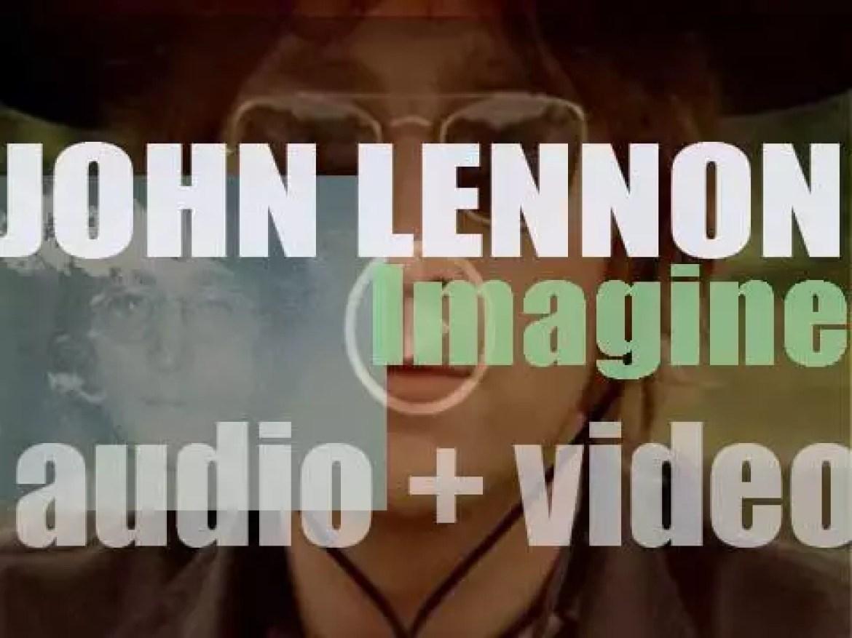 John Lennon releases his second solo album : 'Imagine' featuring the title track plus 'Jealous Guy' (1971)