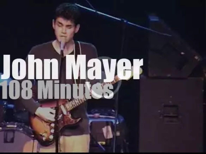 John Mayer plays in Philadelphia (2001)