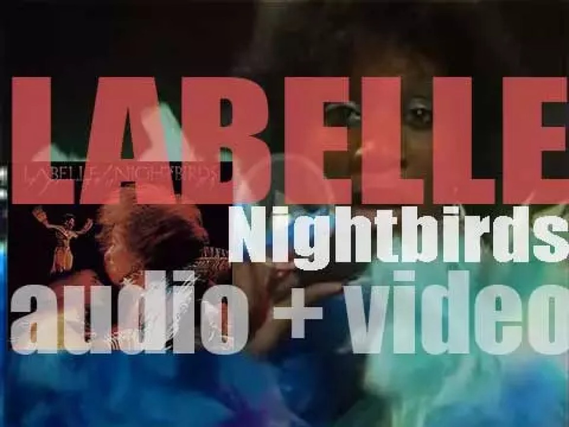 Epic Records publish Labelle's 'Nightbirds' featuring 'Lady Marmalade' (1974)
