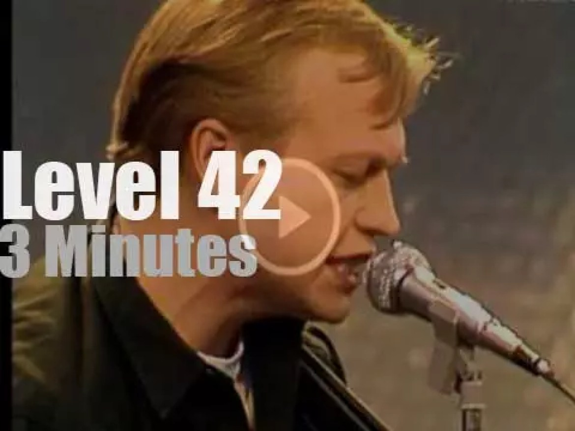 On TV today, Level 42 in Germany (1984)
