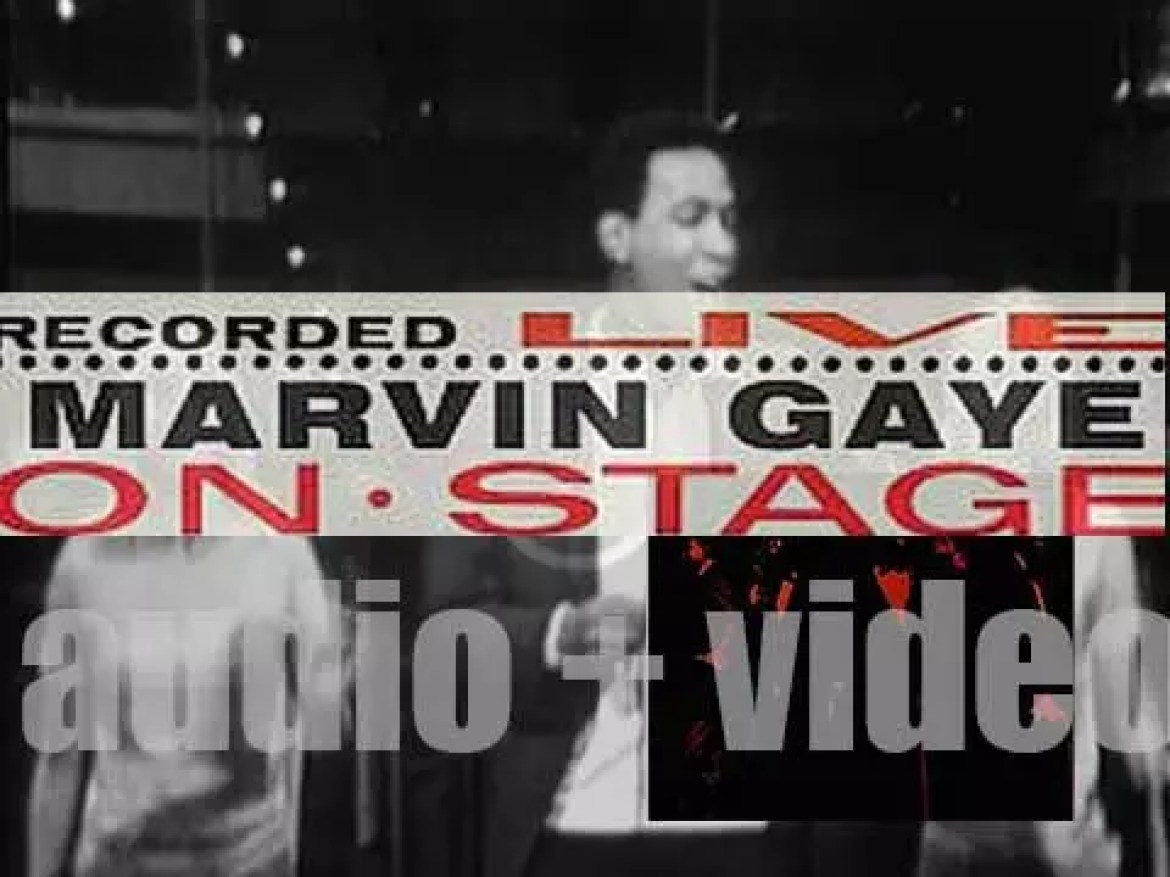 Tamla publish 'Marvin Gaye Recorded Live on Stage' (1963)