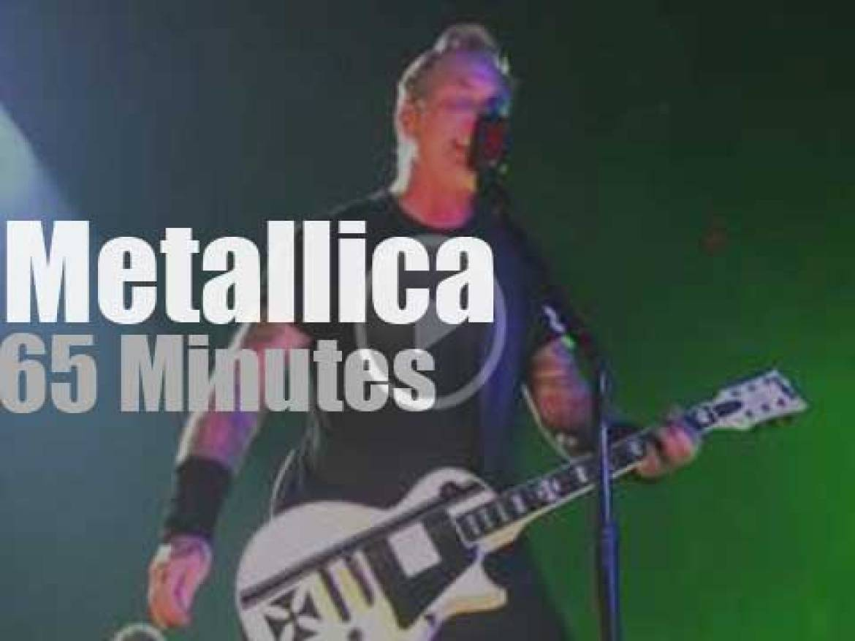 Metallica serenade Quebec (2015)