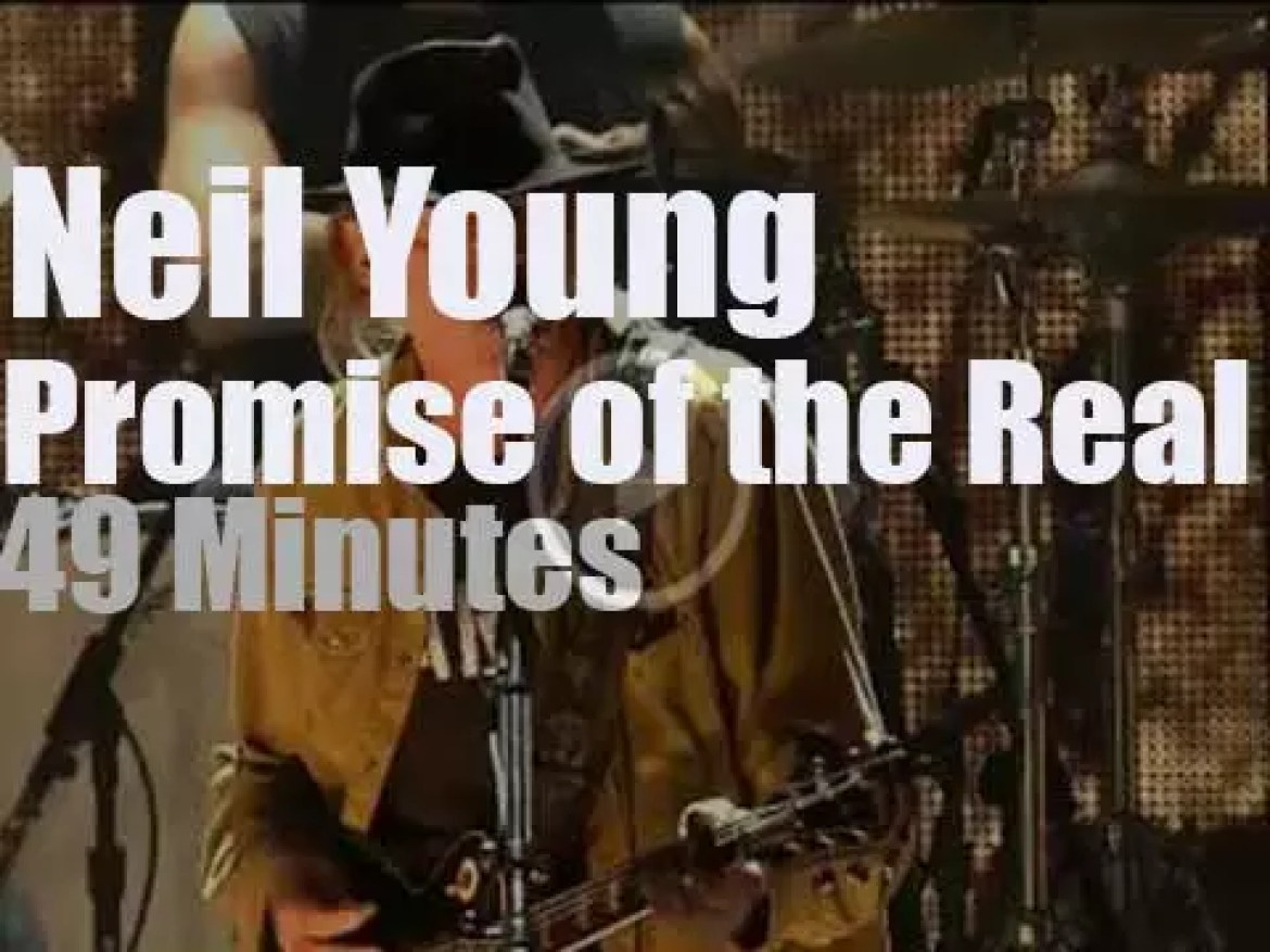 Neil Young takes Promise of the Real to  'Farm Aid 30' (2015)