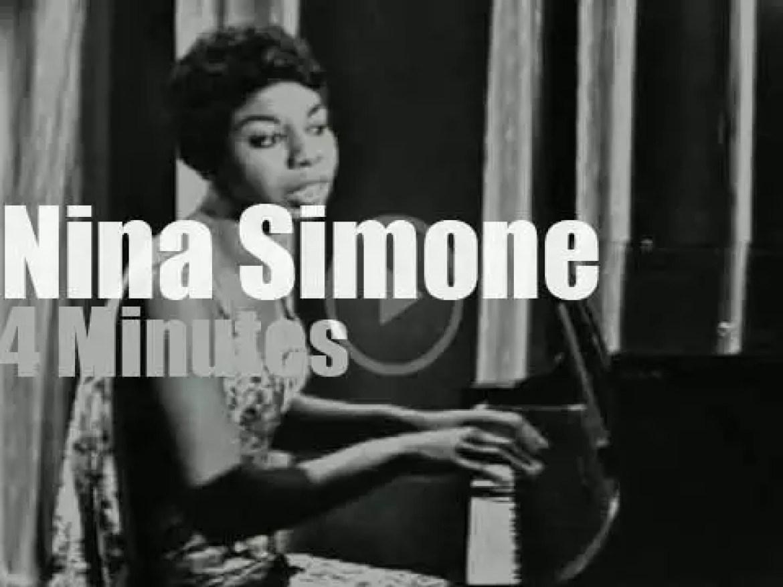 On TV today, Nina Simone at 'Ed Sullivan Show' (1960)