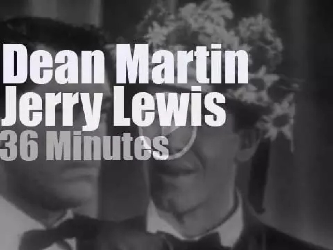 On TV today, Dean Martin & Jerry Lewis begin on NBC (1950)