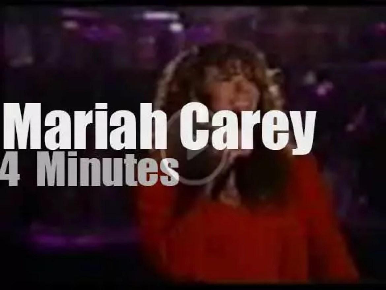 On TV today, Mariah Carey with Arsenio Hall (1991)