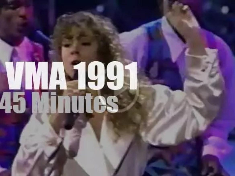 On TV today, Metallica shares with Mariah Carey (1991)