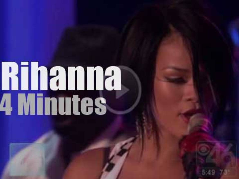 On TV today, Rihanna with Ellen (2007)