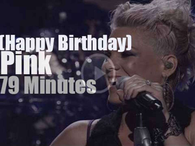 Happy Birthday P!nk