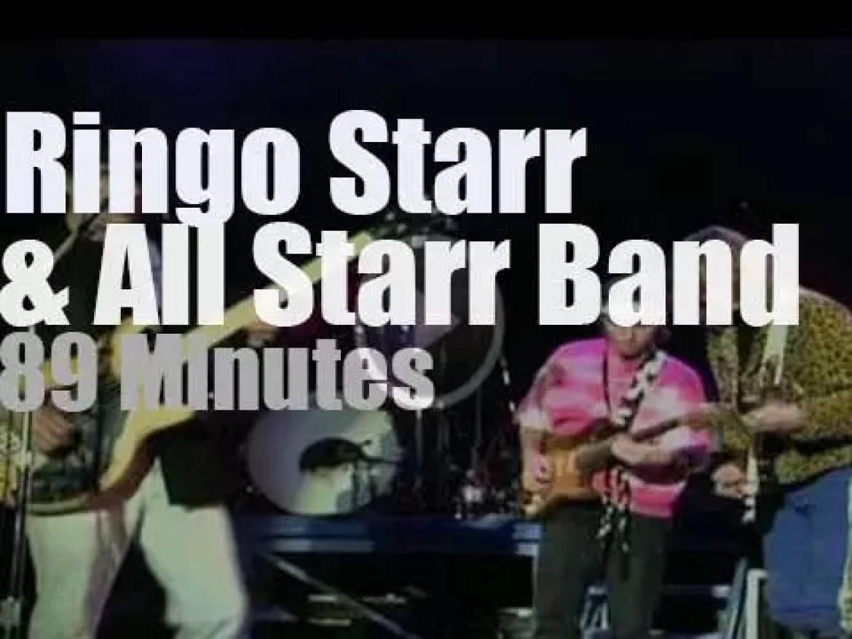 Ringo Starr & All Starr Band rock LA (1989)