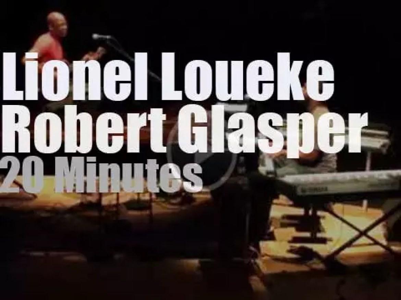 Robert Glasper & Lionel Loueke meet in Paris (2012)