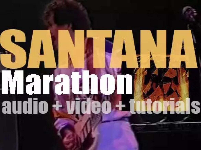 Columbia release Santana's tenth studio album : 'Marathon' featuring 'You Know That I Love You' (1979)