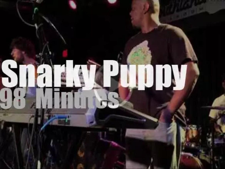 Snarky Puppy play in North Carolina (2014)