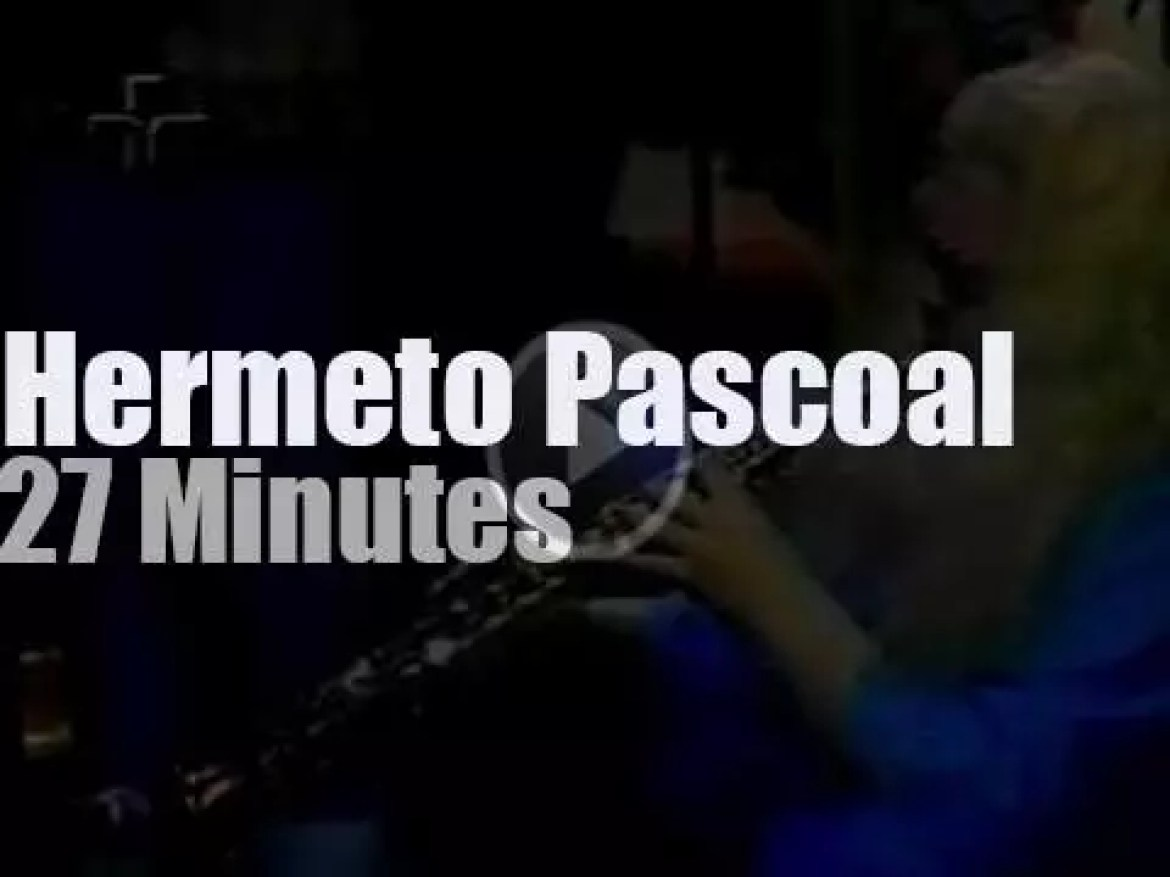 Stan Getz  sits in with Hermeto Pascoal & Grupo (1978)