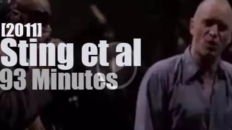 Bruce, Gaga, Herbie et al come for Sting's 60th BDay (2011)