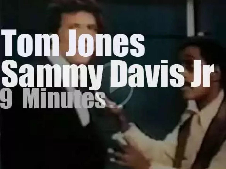 On TV today, Tom Jones opens his season with Sammy Davis Jr (1969)