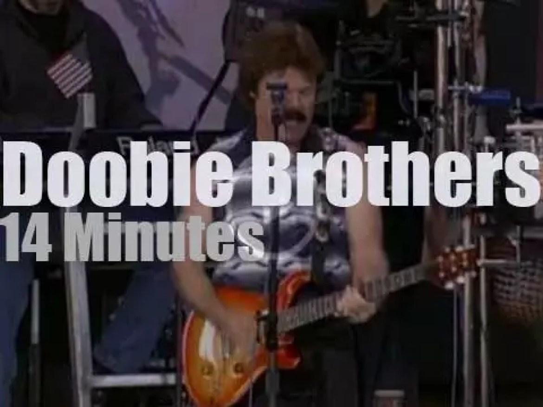 The Doobie Brothers play at 'Farm Aid' (2001)