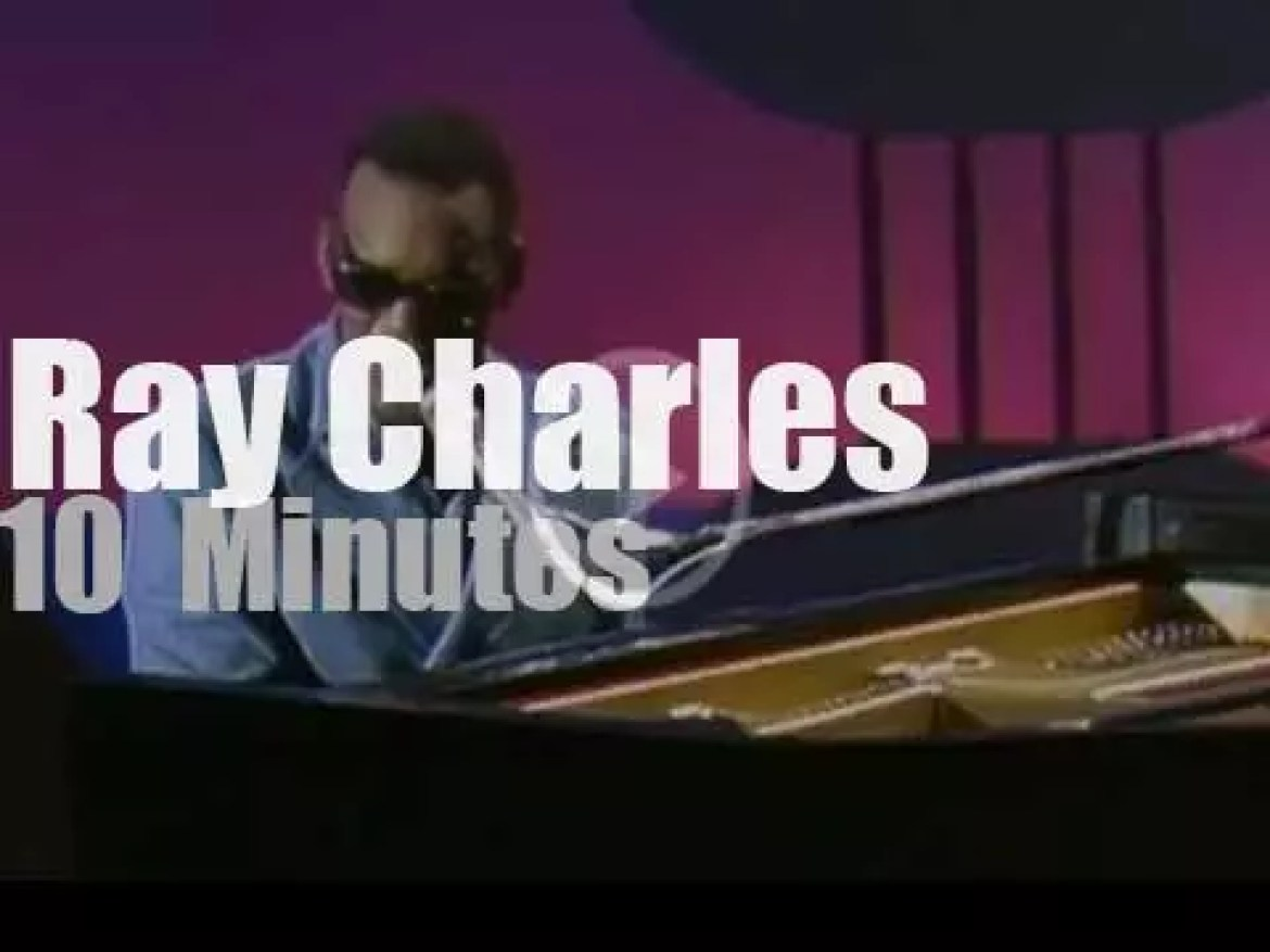 On TV today, Ray Charles, Liza Minnelli at 'The Johnny Cash Show'  (1970)